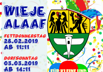Wieje Alaaf – wir machen uns für den Dorfkarneval stark